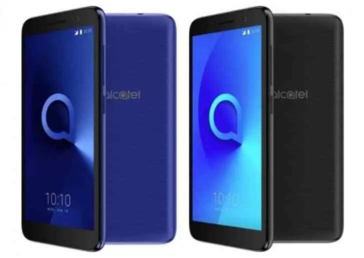 Alcatel 1 Tráz especificações inferiores que o 1X com Android GO Edition 1