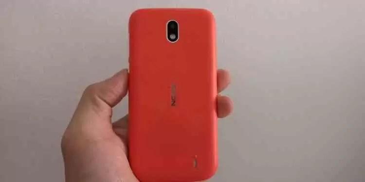 Análise Nokia 1 com Android 8.1 Go Edition 2