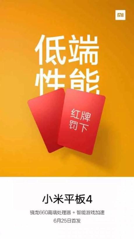 Xiaomi Mi Pad 4 confirmado com Snapdragon 660 1