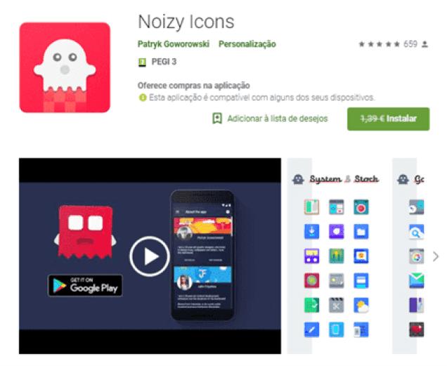 Noizy Icons era 1.39€ e agora está GRÁTIS na Play Store 1