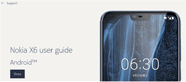 Nokia X6 user manual