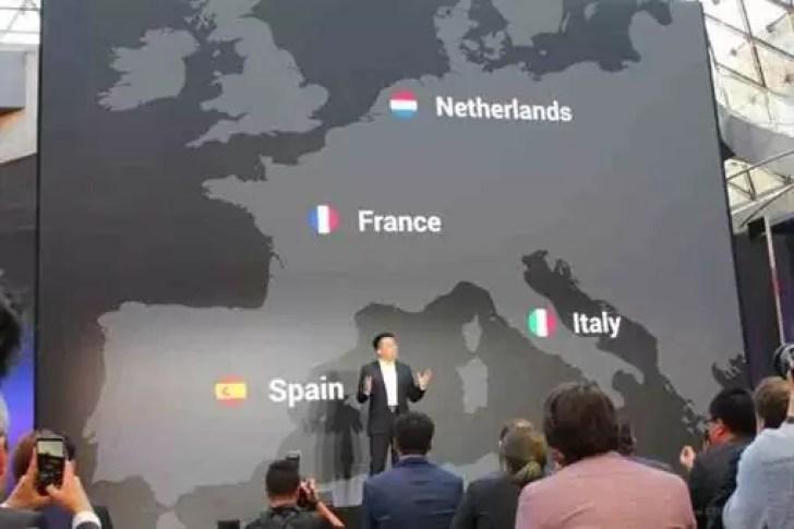 Oppo entra oficialmente na Europa ao atingir 200 milhões de utilizadores 2