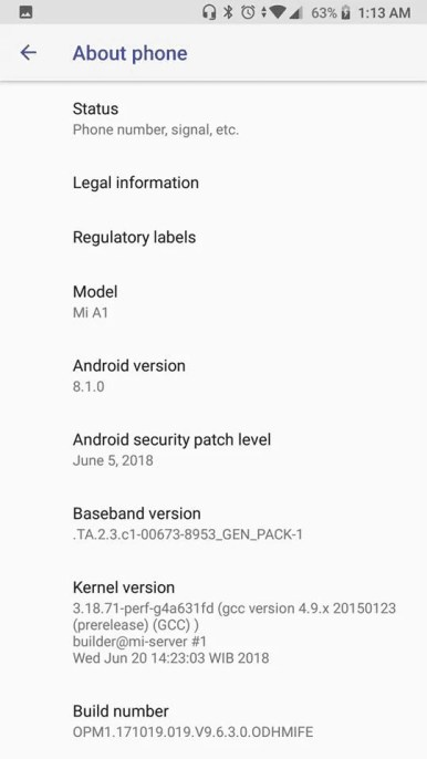 Xiaomi-Mi-A1-Android-8.1-Oreo-update-3