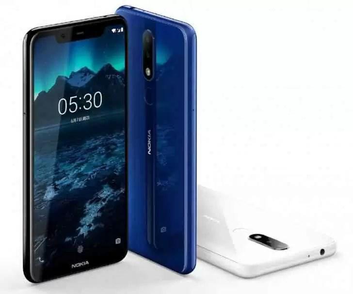 Nokia X5 é agora oficial com Helio P60, câmeras duplas e 84% de relação ecrã-a-corpo 2