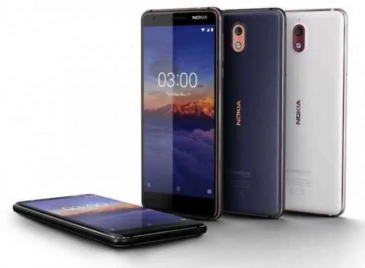 Nokia 3.1 será lançado na Índia a 21 de julho 1