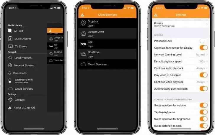 A atualização do VLC para iOS oferece suporte ao Chromecast