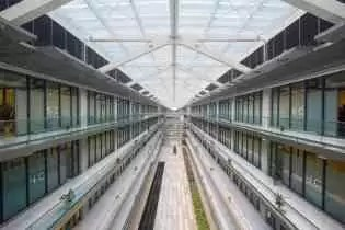 Dentro do Centro de Pesquisas de Xangai
