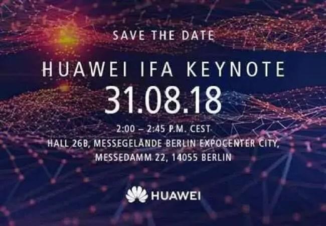 Huawei envia convites para o keynote na IFA, Kirin 980 a caminho image