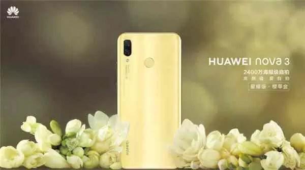 Huawei Nova 3 eleva a média gama a um novo nível: 3D Face Unlock, GPU Turbo e Kirin 970! image
