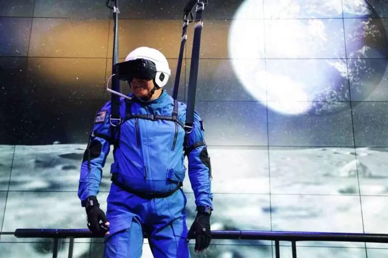 Samsung colabora com a NASA para criar uma experiência lunar VR 1
