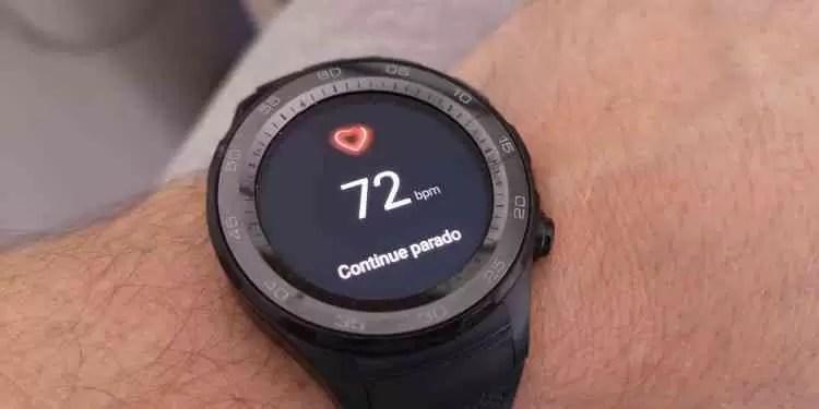 Análise Huawei Watch 2 8