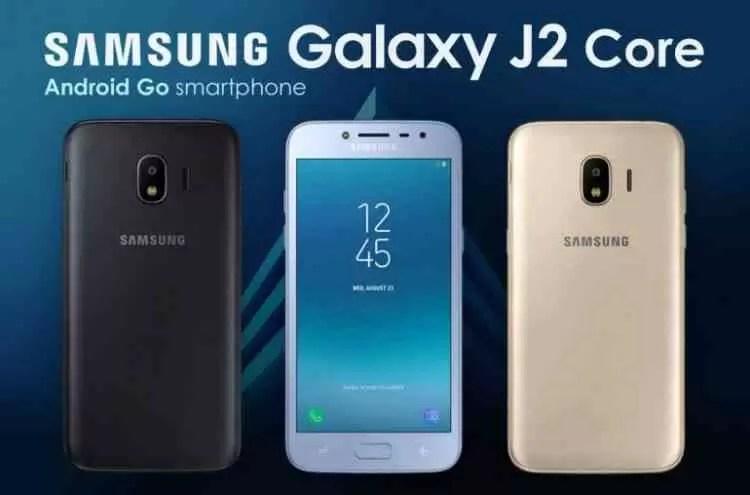 Samsung Galaxy J2 Core Revelado Oficialmente 1