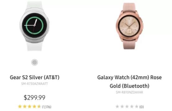 Samsung Divulga o Galaxy Watch no seu próprio site antes do tempo 2