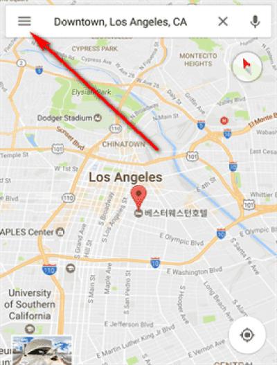 Como ativar notificações de trânsito no Google Maps 2