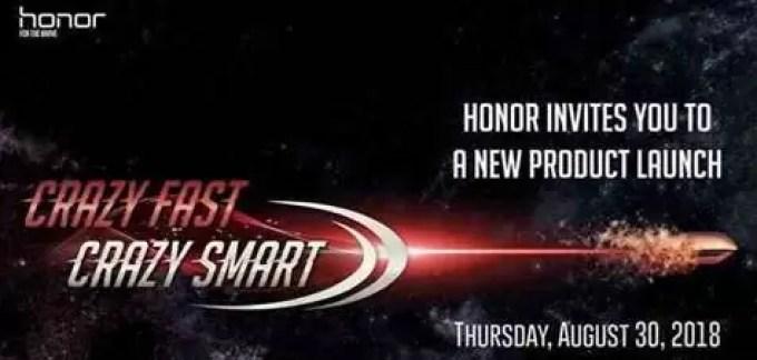 Honor anuncia evento de lançamento de produto da IFA em 30 de agosto 1