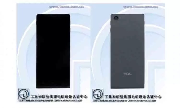 TCL T700X visto na TENAA com HD + Display e uma única câmara 1