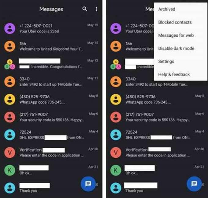 Samsung e Google colaboram para mensagens RCS nas suas aplicações de mensagens 1