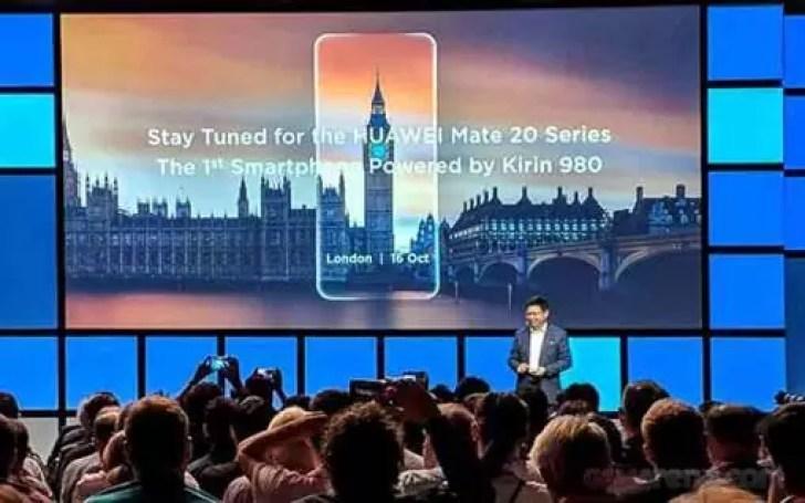 É oficial, o Huawei Mate 20 e o Mate 20 Pro serão revelados em Londres no dia 16 de Outubro. 1