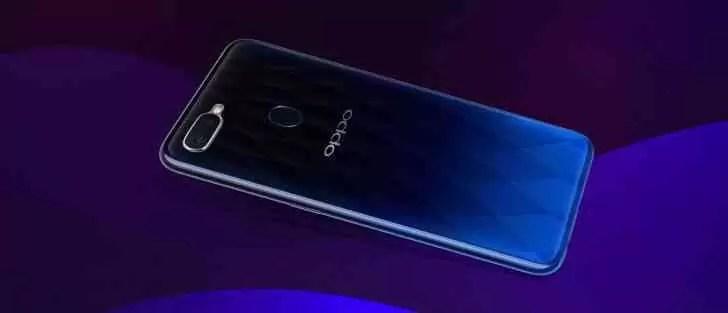 Oppo F9 chega oficialmente a15 de agosto com VOOC 3