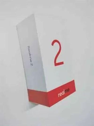 Caixa de venda Oppo Realme 2