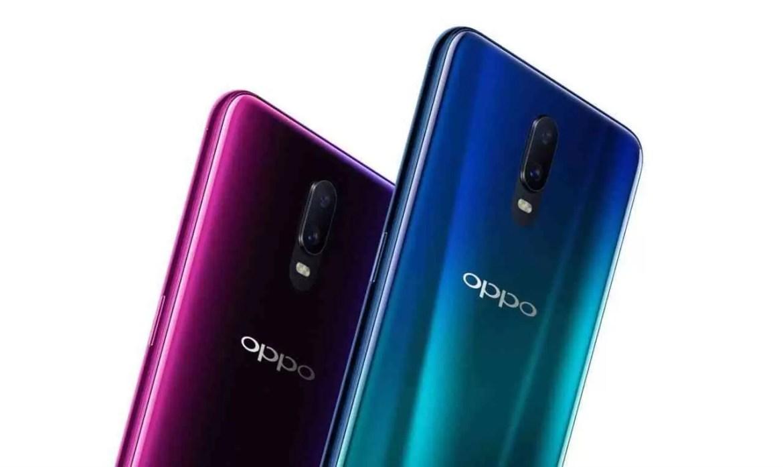 Variantes de cores OPPO R17