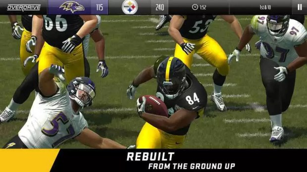 Download do novo jogo Madden NFL Overdrive Football da EA 1