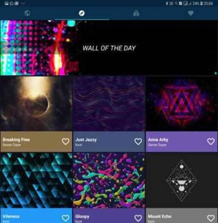 Use a aplicação Backdrops para papéis de parede impressionantes no seu smartphone Galaxy