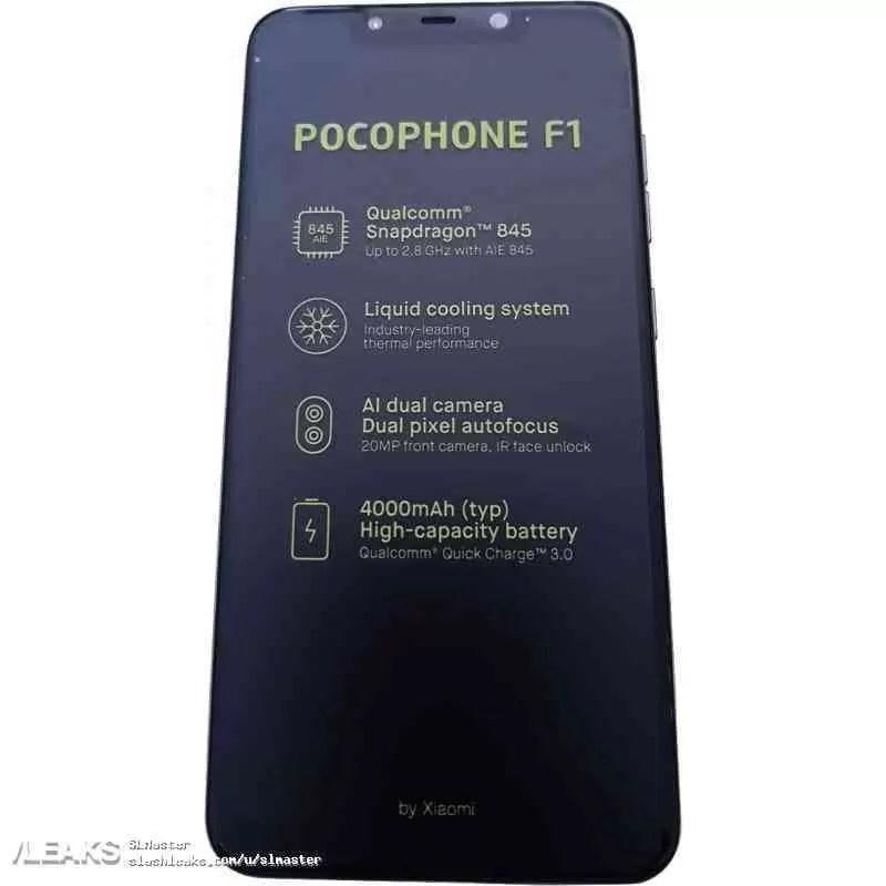 Caixa de venda do Xiaomi Pocophone F1 aparece junto com algumas fotos ao vivo 1