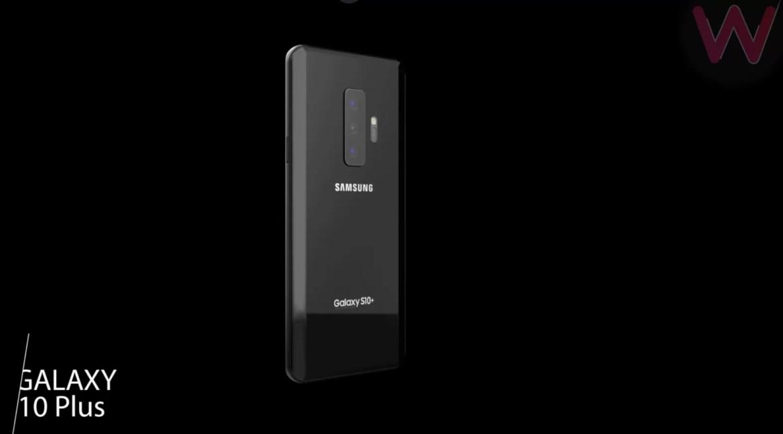 Galaxy S10 + render