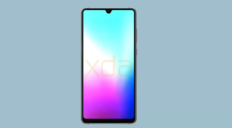 Huawei Mate 20 render frente
