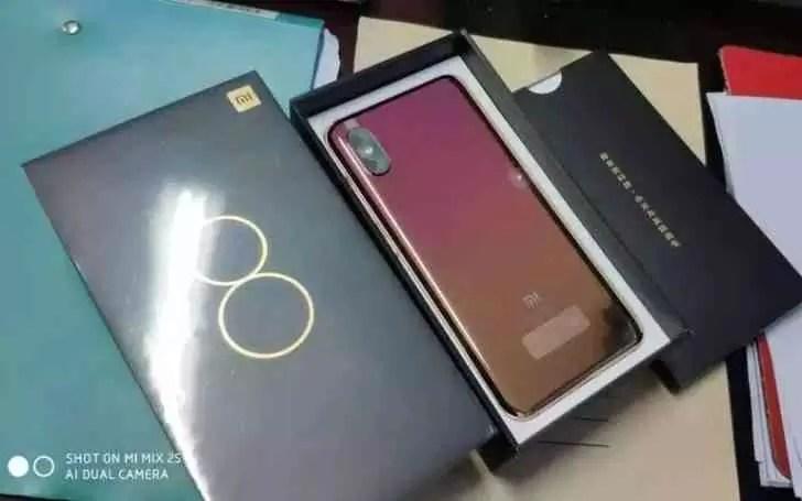 Xiaomi Mi 8 Screen Fingerprint Edition revelado em imagens reais 2