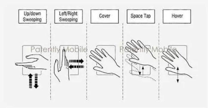 Samsung reinventa navegação por gestos com a sua mais recente patente 1