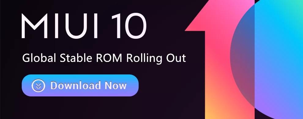 MIUI 10 estável lançado globalmente para Redmi Note 5, 5 Pro, Mi Mix, Mi Mix 2, Mi 5, Mi 6, Mi Note 2 e Redmi S2 1