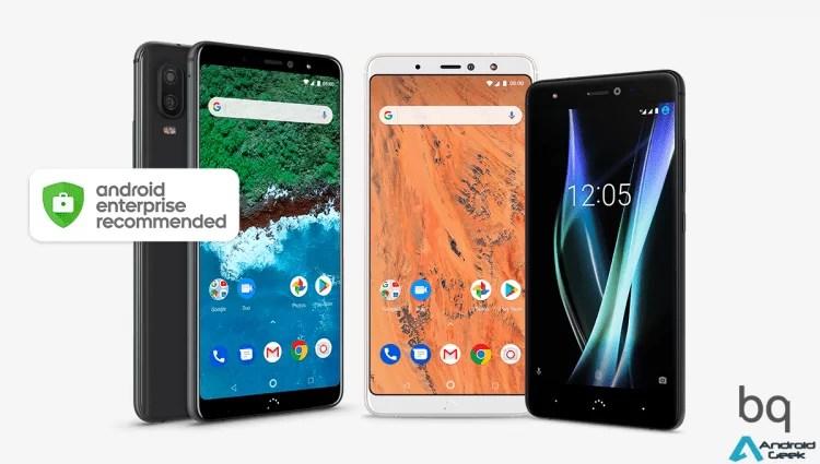 BQ entra no programa Android Enterprise Recommended da Google 1