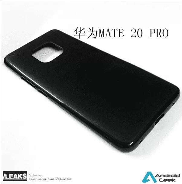 Capas Huawei Mate 20 e Mate 20 Pro confirmam ausência de jack de 3,5 mm e muito mais 3