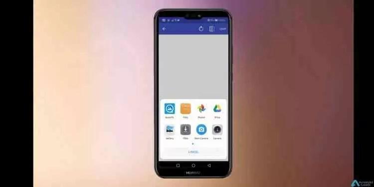 Entalhe do Huawei P20 e OnePlus 6 pode ser usado como indicador de bateria 3