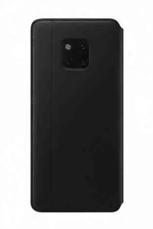 Huawei Mate 20 Pro na sua capa de carteira PU