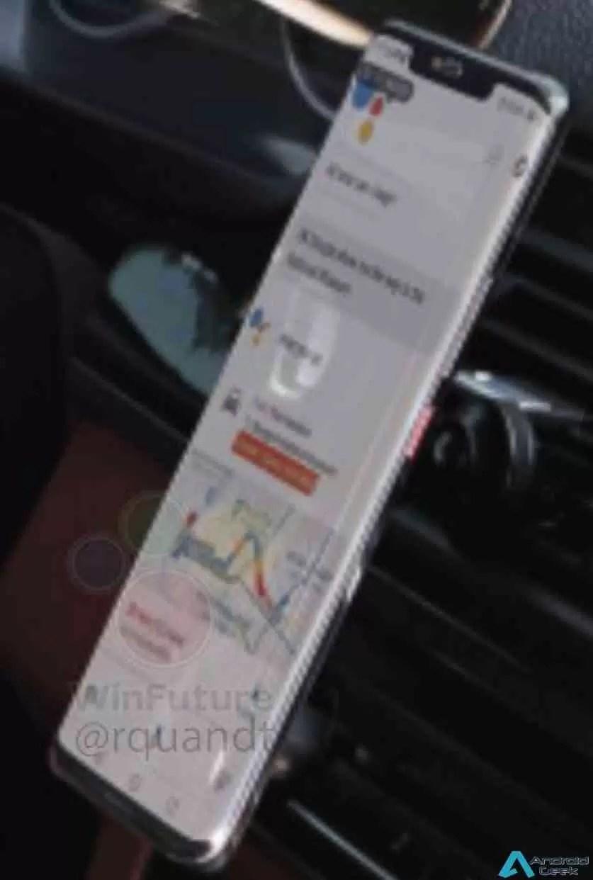 Huawei Mate 20 Pro com display curvo e botão de energia saliente revelado 2