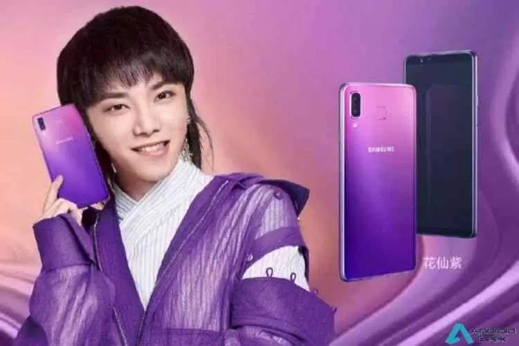 Samsung Galaxy P30 vai chegar em quatro opções de cores gradientes 3