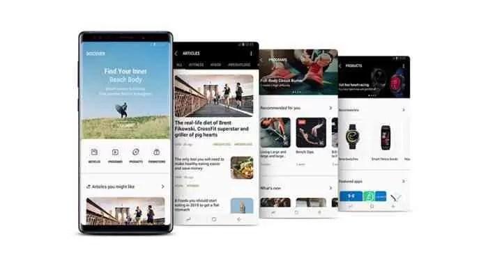 Este é o Samsung Health 6.0, a maior atualização do serviço de saúde da Samsung 3
