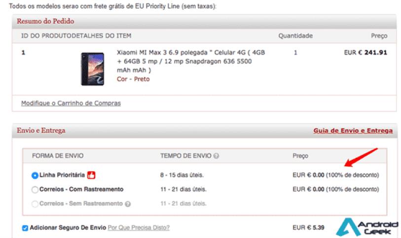 TOP 5 Smartphones XIAOMI relação qualidade preço (cupões de desconto) 1
