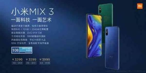 O Xiaomi Mi MIX 3 acaba no dia do seu lançamento em menos de um minuto 2