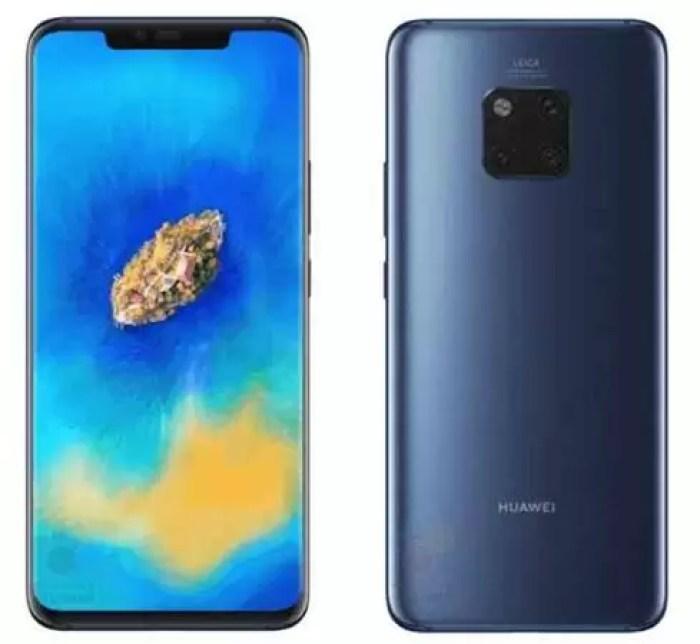 Huawei Mate 20 e Mate 20 Pro: os preços são filtrados 2