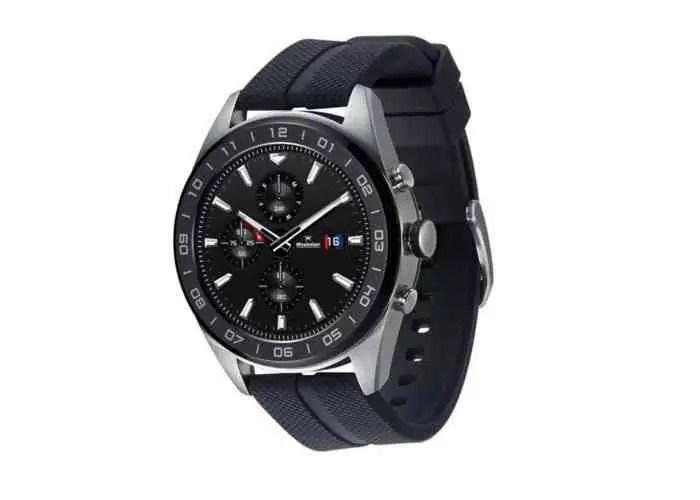LG Watch W7, todos os detalhes do primeiro relógio com Wear OS e ponteiros mecânicos 2