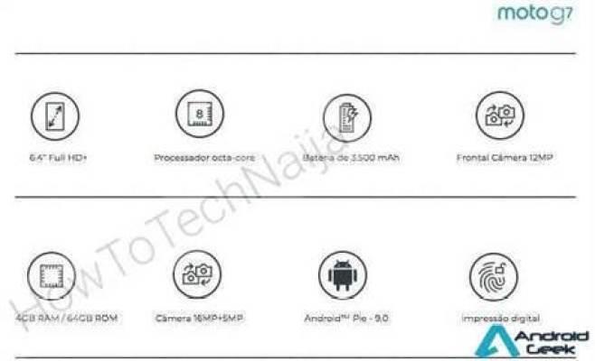 Alegado Moto G7 mostra as suas especificações e que a Motorola pode apostar em ecrãs Grandes! 1
