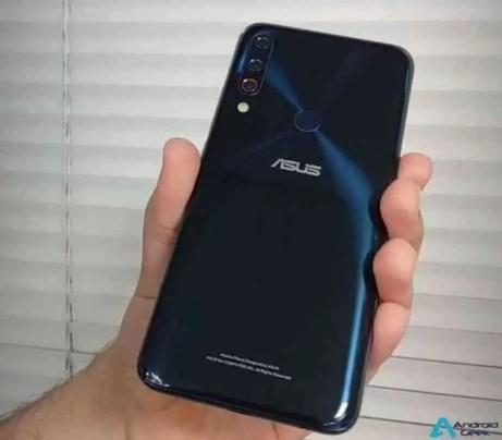 As imagens do protótipo ASUS ZenFone 6 revelam câmaras no ecrã e câmaras traseiras triplas 6