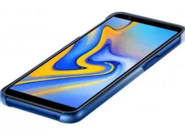 Capas Samsung Galaxy J4 +, J6 + e A7 (2018) com acabamento gradiente em fuga de informação 3