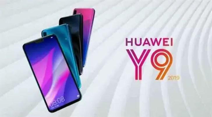 Huawei Y9 (2019) é oficial com duas câmeras em cada lado 1