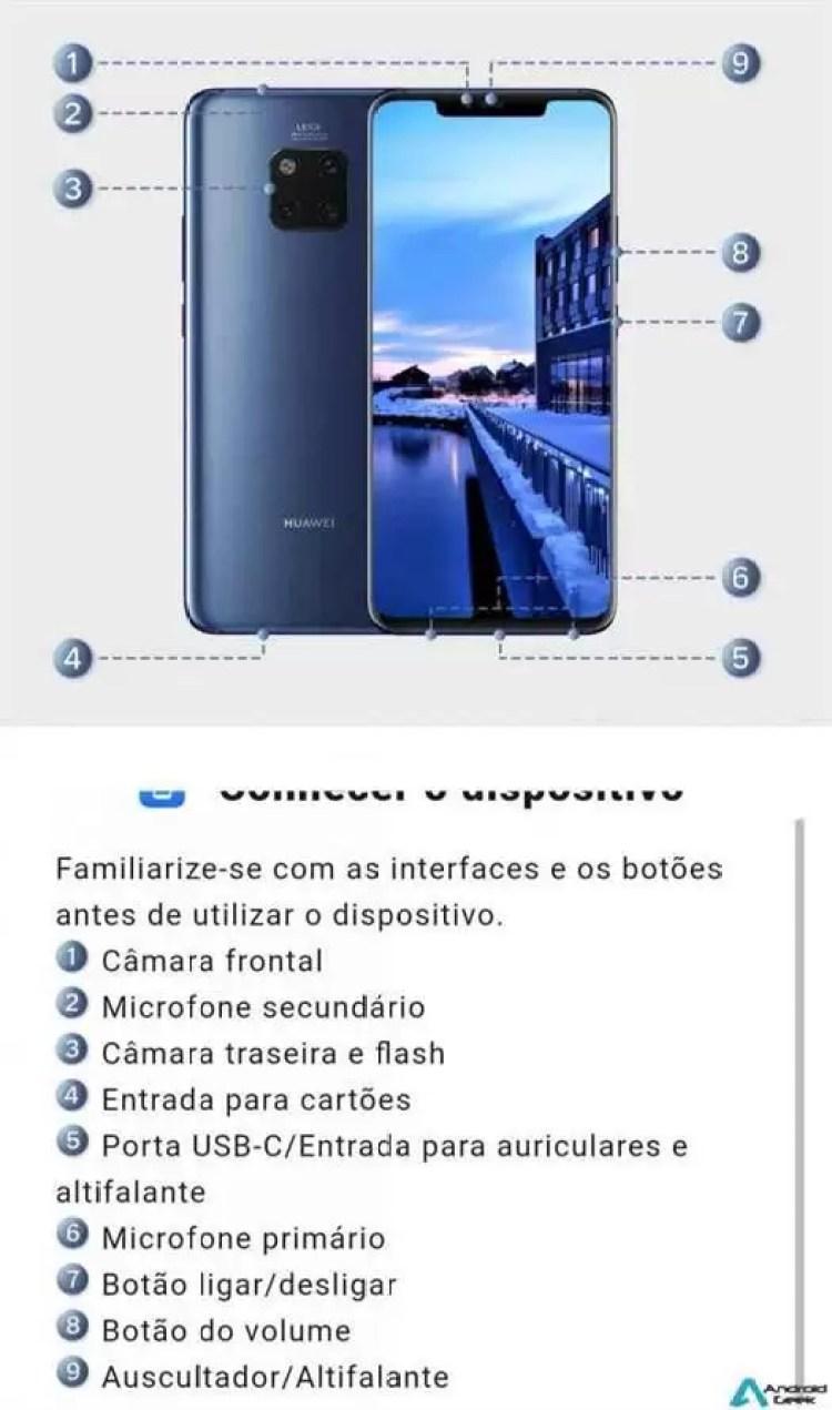 Huawei Mate 20 Pro recheado de recursos novos com EMUI 9 8