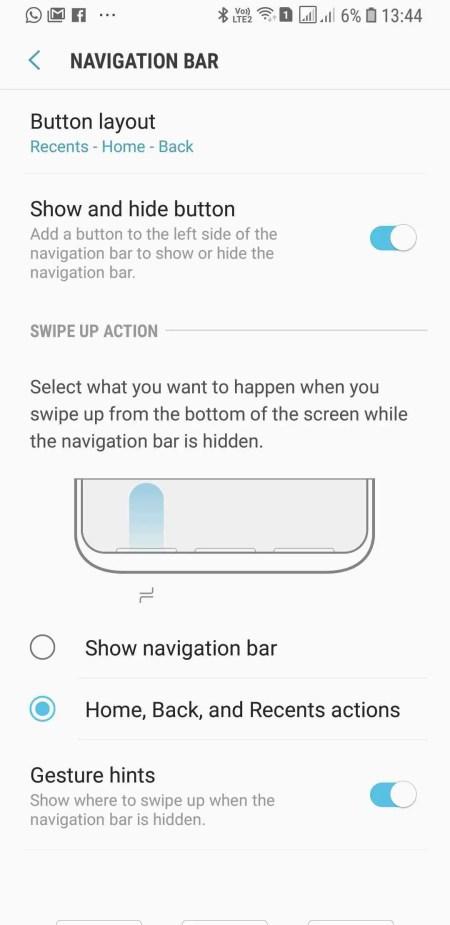 Solução da Samsung para aqueles que não gostam das teclas de navegação 1